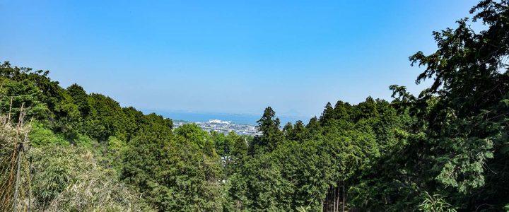 【登山】比叡山'18GW part 4 表坂下山、坂本へ。