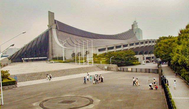 【散歩】国立代々木競技場第一体育館