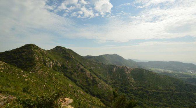 【登山】播磨アルプス(高御位山)西→東へ縦走してきた