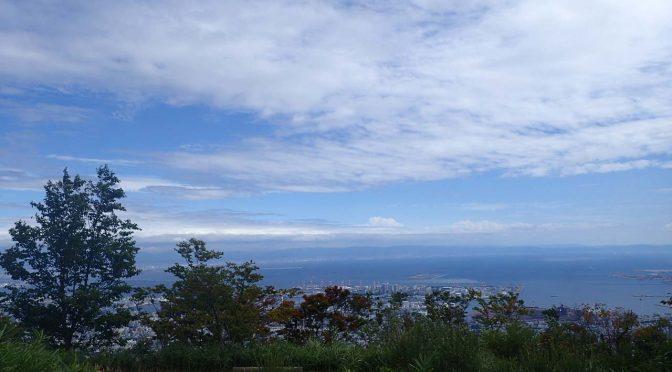 【登山】六甲山(有馬温泉~油コブシ~ケーブル下)201608