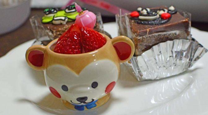 【ケーキ】アンジェ洋菓子店でひな祭りなので春っぽいケーキとか買ってみた。